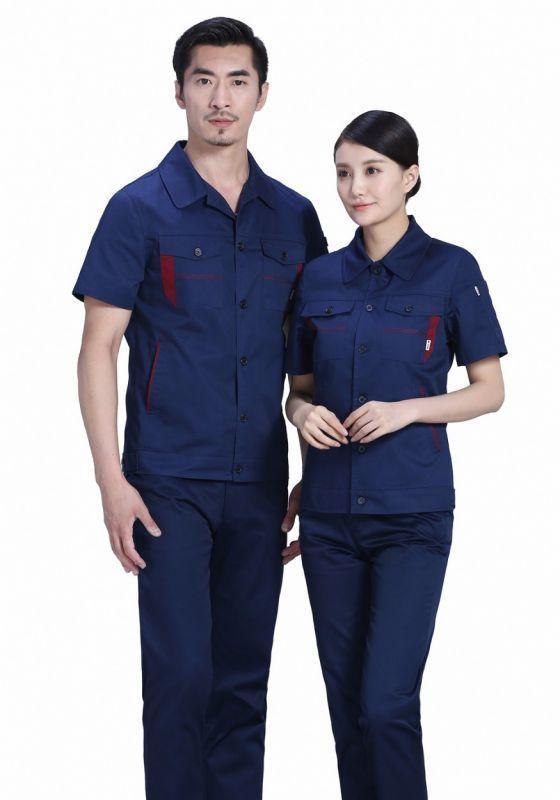 定制短袖工作服的制作工艺以及需要注意的细节有哪些